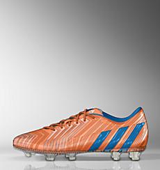 Orange and Blue Stripe Footbal Boots Women - Adidas