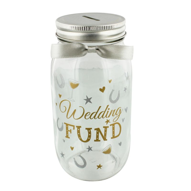 Pennies Dreams Mason Jar Wedding Fund Wedding Gifts
