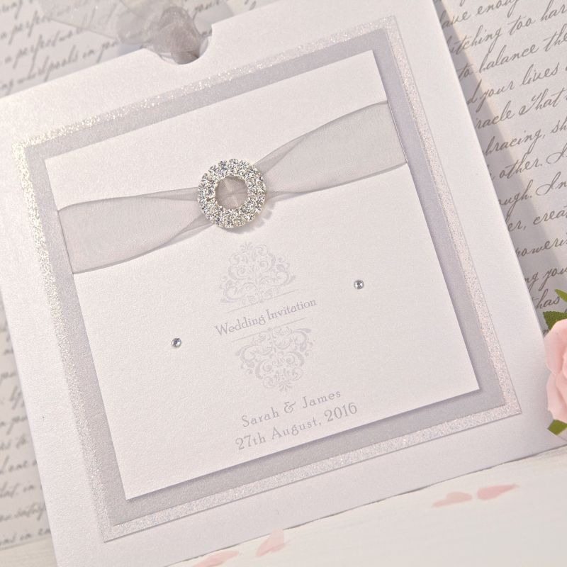Allegra Wedding Day Invitation