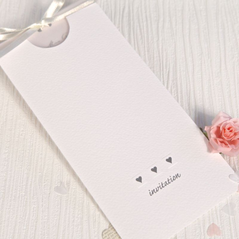 Pocket Of Love Wedding Day Invitation